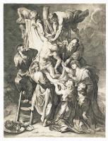 Лукас ван Ворстерман. Снятие с креста