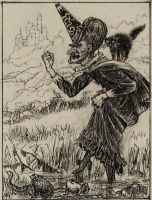 """Артур Хьюз. Злая фея. """"Гиперборея или страна за северным ветром"""""""
