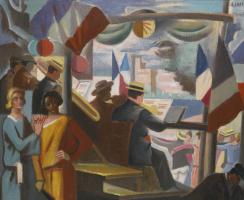 Андре Лот. 14 июля в Авиньоне. 1930