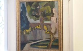 Александр Силыч Ермоленко. Пейзаж с деревом