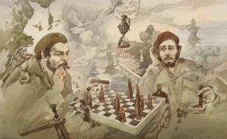 Юрий Лаптев. Партия в шахматы