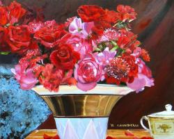 Любовь Маковская. Розы