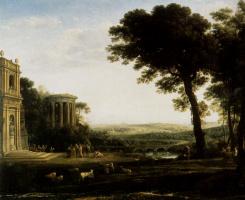 Клод Лоррен. Пейзаж с Аполлоном