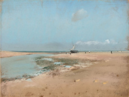Эдгар Дега. Пляж во время отлива