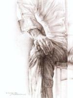 Эдуардо Наранхо. Сидящий мужчина