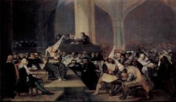 Франсиско Гойя. Трибунал инквизиции