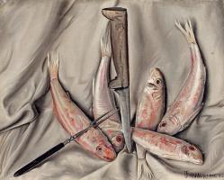 Francois-Emile Barro. Red mullet