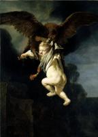 Рембрандт Харменс ван Рейн. Похищение Ганимеда