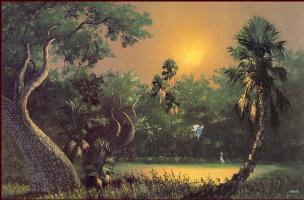 Гарольд Ньютон. Тропический пейзаж 52