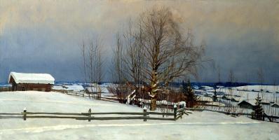 Nikolay Y. Anokhin. February Nast