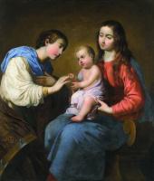 Франсиско де Сурбаран. Брак святой Екатерины