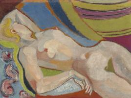 Андре Лот. Обнаженная блондинка. 1933