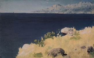 Arkhip Kuindzhi. A sea shore. Crimea