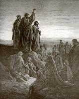 Поль Гюстав Доре. Иллюстрация к Библии: Апостол Петр проповедует Евангелие