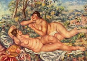 Pierre Auguste Renoir. Bathers