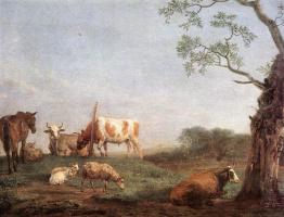 Паулюс Поттер. Коровы пасутся