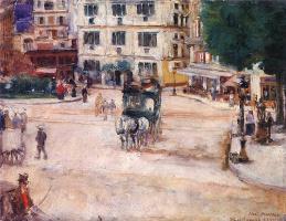 Юзеф Мехоффер. Площадь Пигаль в Париже