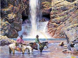 Джим Альберта. Водопад