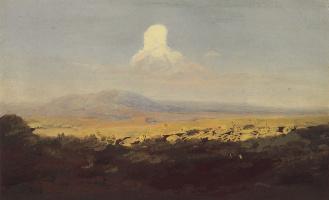 Архип Иванович Куинджи. Облако над горной долиной