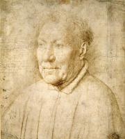 Ян ван Эйк. Портрет кардинала Альбергати
