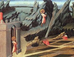 Джованни ди Паоло. Иоанн Креститель в пустыне