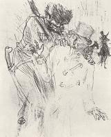 Анри де Тулуз-Лотрек. Иллюстрация к книге Клемансо У подножия Синая