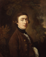 Thomas Gainsborough. Self-portrait