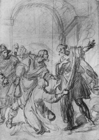 Джованни Биливерти. Архангел Рафаил отклоняет подарки Товии