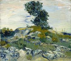 Винсент Ван Гог. Дуб на скалах