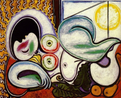 Pablo Picasso. Reclining Nude