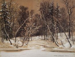 Иван Иванович Шишкин. Лес зимой