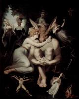 Иоганн Генрих Фюссли. Царица эльфов Титания и основа, ткач с головой осла