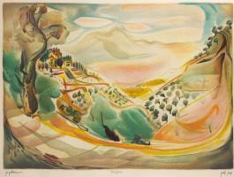 Пейзаж в Галилее