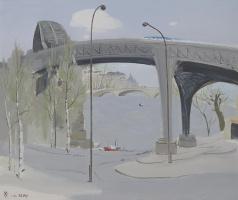 У Гуаньчжун. Мост над Сеной
