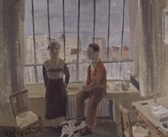 Edgard Titgat. In the artist's Studio
