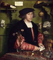 Ганс Гольбейн Младший. Портрет купца Георга Гиссе