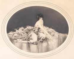 Икар Луи Франция 1888 - 1950. Пасьянс. 1926