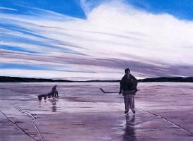 Гвен Мойз. Озеро Хоккей на Дуско