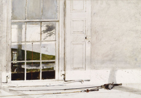 Andrew Wyeth. The rod and reel