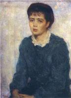 Илья Сергеевич Глазунов. Портрет жены художника.1955