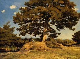 Анри-Жозеф Харпигниес. Большое дерево