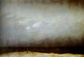 Caspar David Friedrich. Monk by the sea