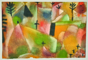 Paul Klee. Friedhof