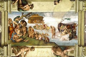 Микеланджело Буонарроти. Потоп