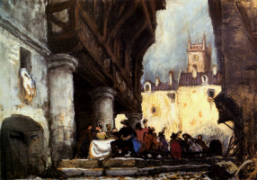 """Alexander Nikolaevich Benoit. The backdrop to the tragedy of Pushkin's """"Feast during the plague"""""""