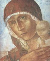Кузьма Сергеевич Петров-Водкин. Мадонна с младенцем