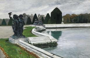 Александр Николаевич Бенуа. Водный партер в Версале