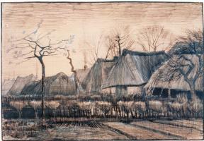 Винсент Ван Гог. Соломенные крыши