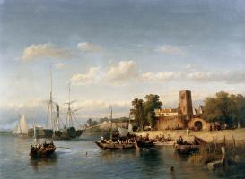 Саломон Леонардус Вервир. Лодки