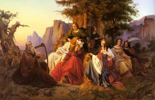 Антон Хухолл. Королевская семья